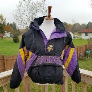 VINTAGE 90S STARTER Minnesota Vikings Jacket